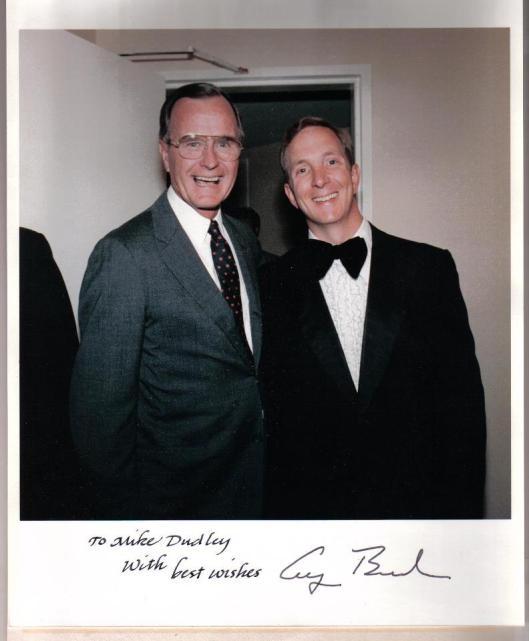 Bush 41 & Me