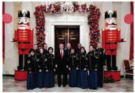 Bush 43--White House Christmas