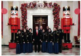Bush 43--White House Christmas